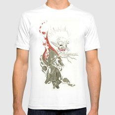 Dracula White Mens Fitted Tee SMALL