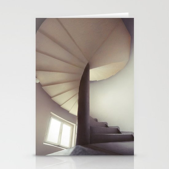 Spiral frontal Stationery Card