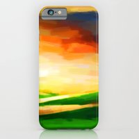 Colorful Sky - Painting … iPhone 6 Slim Case