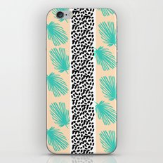 Palm Leaf Abstract iPhone & iPod Skin