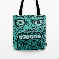 KEEP IT KREEPY Tote Bag