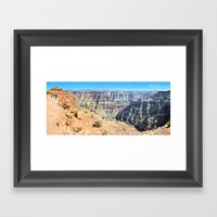 Grand Canyon West Panora… Framed Art Print