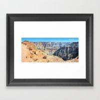 Grand Canyon West Panorama II Framed Art Print