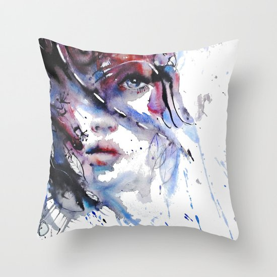 My Way My destiny Throw Pillow