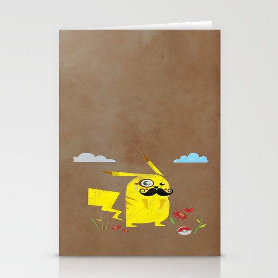 Pikachu Stationery Card