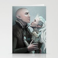 Dragon Age - Solas And I… Stationery Cards