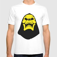 Skeletor. Mens Fitted Tee White SMALL
