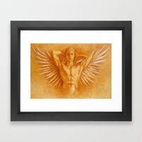 Angel Gabriel Framed Art Print