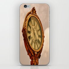 5th Avenue Clock iPhone & iPod Skin