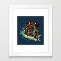 Sea Traveler Framed Art Print