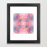 Candy Outburst Framed Art Print