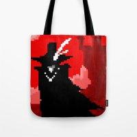 Vampire Hunter D on Pixel Tote Bag