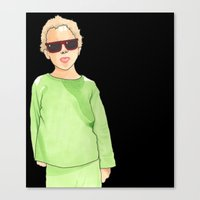 Ray-Ban Kid Canvas Print