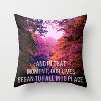 And In That Moment, Our … Throw Pillow