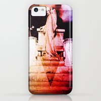 iPhone Cases featuring angel in bliss by blujdrawings