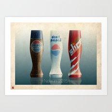 2015 Sodas Art Print