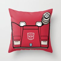 Transformers - Sideswipe Throw Pillow
