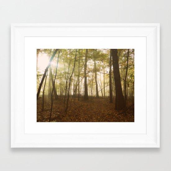 A Secret World Framed Art Print