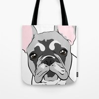 Jersey The French Bulldo… Tote Bag
