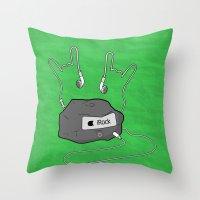 iRock Throw Pillow
