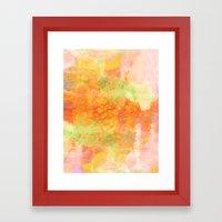 PASTEL IMAGININGS 3 Colo… Framed Art Print