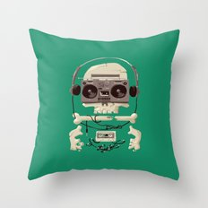Doombox Throw Pillow