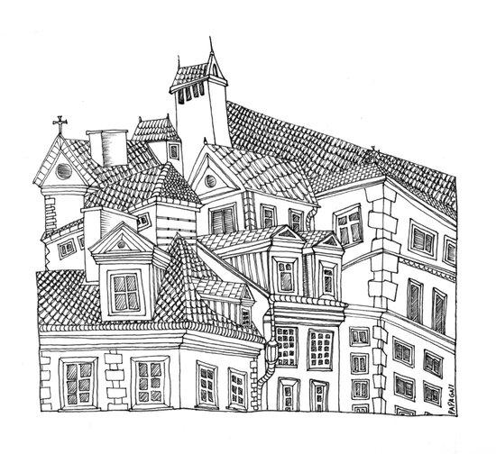 Old Town (Stare Miasto) - Warsaw, Poland Art Print