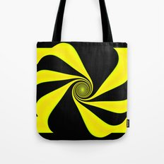 Abstract. Yellow+Black. Tote Bag