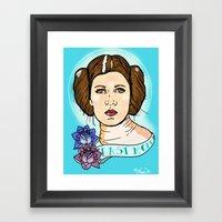 Leia Framed Art Print