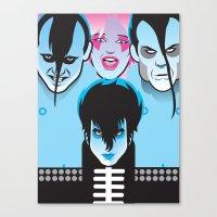 Jem & the Misfits Canvas Print