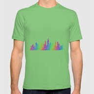 Chicago Mens Fitted Tee Grass MEDIUM