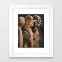 Body, Mind, Soul and Spirit Framed Art Print