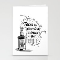 Tous Les Chemins... Stationery Cards