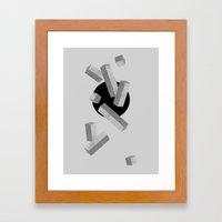 10 Items Or Less Framed Art Print