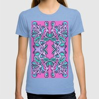 Ultraviolet  Womens Fitted Tee Tri-Blue SMALL