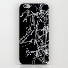 White bikes iPhone & iPod Skin