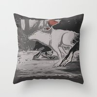 werehunt Throw Pillow