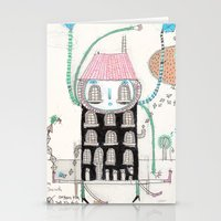 Knock Knock Knock Stationery Cards