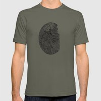 Nervous  Mens Fitted Tee Lieutenant SMALL