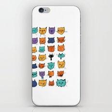 Stylish Cats iPhone & iPod Skin