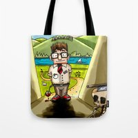 Enemy at the (Bill) Gates Tote Bag