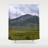 In The Valley - Alaska Landscape Shower Curtain