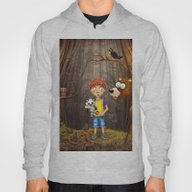 Little Boy With The Anim… Hoody