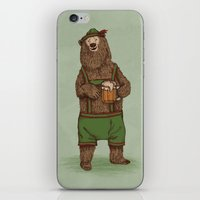 Traditional German Bear iPhone & iPod Skin