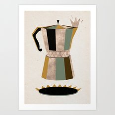 Late Night Coffee Art Print