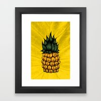 Pinipple Framed Art Print