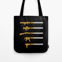 Lung Bullets Tote Bag