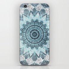 BOHOCHIC MANDALA IN BLUE iPhone & iPod Skin