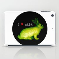 I LOVE ALBA iPad Case