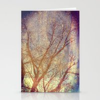Galaxy + Nature Reflection Stationery Cards